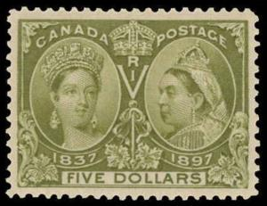 Canada Scott 65 Gibbons 140 Mint Stamp (3)