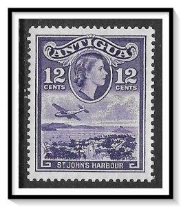 Antigua #115 QE II & Harbour MH