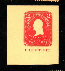 PHILIPPINES #U24 MINT FULL CORNER VF Cat $18