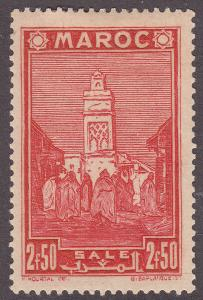 Fr Morocco 171 Hinged 1939 Mosque of Sale´