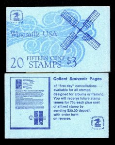 #BK135 1980 #1742a - UNOPENED BOOKLET OF TWENTY 15 CENT STAMPS - NH - MINT