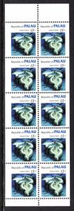 Palau 13a Marine Life Booklet Pane MNH VF