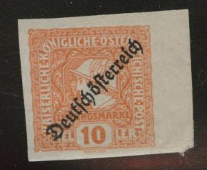 Austria Scott P27MH* Newspaper stamp