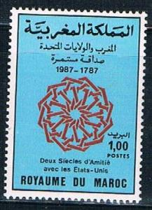 Morocco 642 MNH Diplomatic Relations 1987 (M0303)+