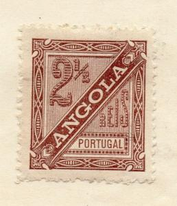Angola 1932-34 Early Issue Fine Mint Hinged 2.5r. 301044