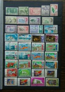 Cayman Islands 1962 values to 1s 1970 $2 + good commemorative issues Used