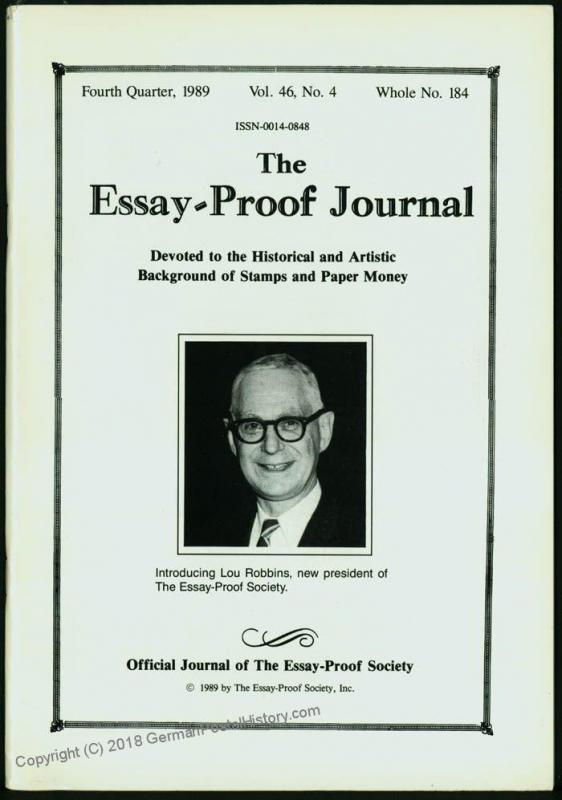 Essay-Proof Journal No184 Charles Mack James Heath 44698