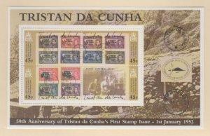 Tristan Da Cunha Scott #705 Stamps - Mint NH Souvenir Sheet