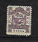 NORTH BORNEO, 38, MINT HINGED, COAT OF ARMS