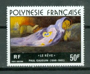 FRENCH POLYNESIA GAUGUIN  #C137... MINT NO THINS...