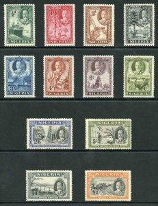 Nigeria SG34/45 1936 set of 12 Fine M/Mint