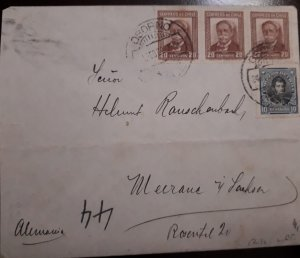 O) 1931 CIRCA - CHILE, MANUEL BULNES, BERNARDO O´HIGGINS, XF