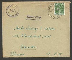 1957 Luxembourg Boy Scouts Bureau corner cachet Wiltz