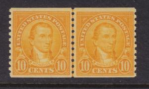 603 Line Pair VF-XF original gum mint never hinged with nice color ! see pic !