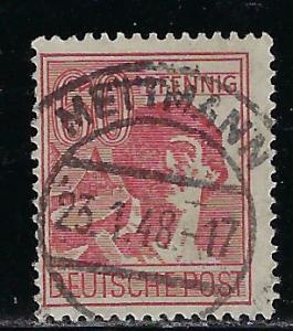 Germany AM Post Scott # 571, used