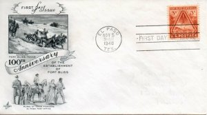 US FDC #976 Fort Bliss, ArtCraft (8155)