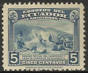 Ecuador Semi Postal 1943 Scott# RA55 Used