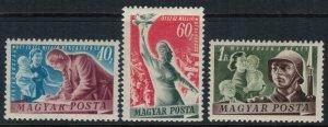 Hungary #917-9*  CV $28.25