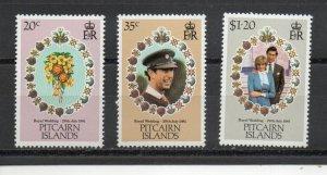 Pitcairn Islands 206-208 MNH