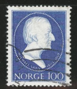 Norway Scott 565 Used  1970 stamp