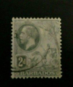 Barbados: 1912, 2d King George V definitive, SG 173, Good used