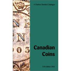 Charlton Standard Catalogue of Canadian Coins 2003 Ed.