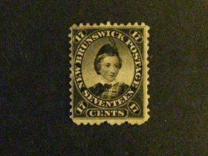 New Brunswick #11 mint hinged  c203 40