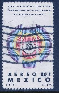 MEXICO C387 World Telecommunications Day. Used. (1191)