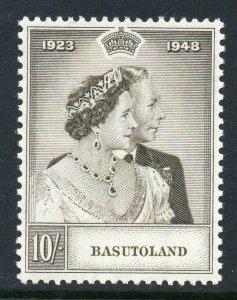 Basutoland 1948 KGVI Royal Silver Wedding RSW 10/- SG 37 mint