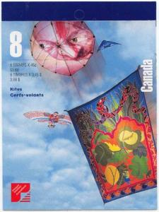 Canada - 1999 46c Kites Complete Booklet #BK221a