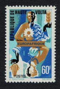 Upper Volta Europafrique 1v 1967 MNH SG#208