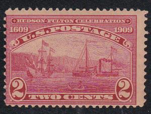 U.S. # 372, Hudson-Fulton, Mint NH,
