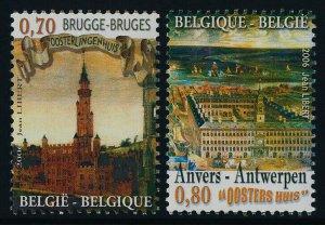 Belgium 2162-3 MNH Hanseatic League, Oosters Huis, Oosterlingenhuis