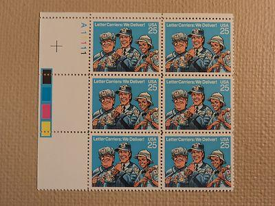 USPS Scott 2420 25c Letter Carriers We Deliver 1989 Mint ...