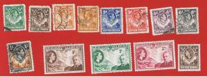 Northern Rhodesia #25//56  MVFLH & VF used  Various Stamps  Free S/H