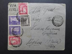 Somalia 1936 Cover with 1932 Series Issues / All Perf 14 / Lt Creasing - Z10309