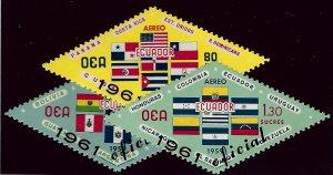 Ecuador SC CO19-CO21 Mint VF..Worth a Close look!!