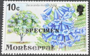 DYNAMITE Stamps: Montserrat Scott #344 – Specimen