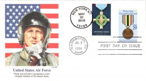 #5067 Air Force Cross Dual Fleetwood FDC