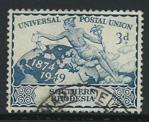 Southern Rhodesia SG 69  VFU