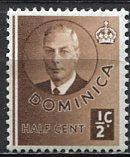 Dominica; 1951; Sc. # 122; **/MH Single Stamp