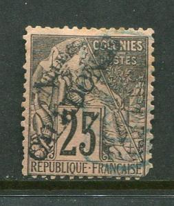 New Caledonia #28 Used