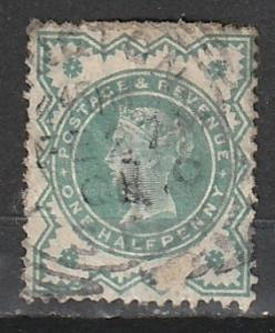 #125 Great Britain Used QV