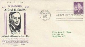 937 3c AL SMITH - Hobby-Life cachet a