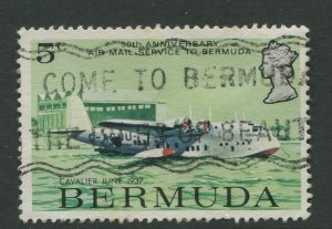 STAMP STATION PERTH Bermuda #318 General Issue Used CV$0.25
