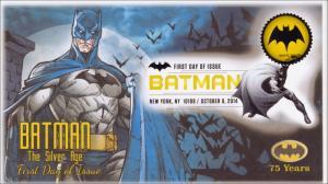 NEW Batman The Silver Age Bat Signal Digital Color Postmark FDC 14-167