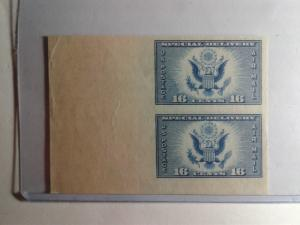SCOTT # 771 DOUBLE LOOK AT THAT SELVAGE GEM MINT NEVER HINGED POST OFFICE FRESH
