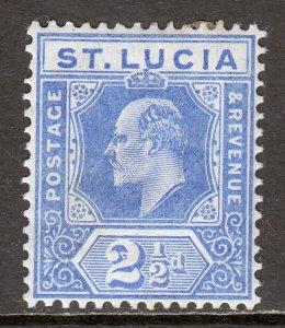St. Lucia - Scott #59 - MH - SCV $4.25