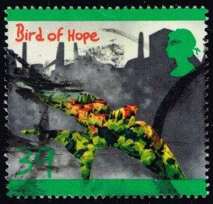 Great Britain #1466 Bird of Hope; Used (1.10)