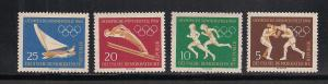 GERMANY - DDR SC# 488-91 F-VF MNH 1960